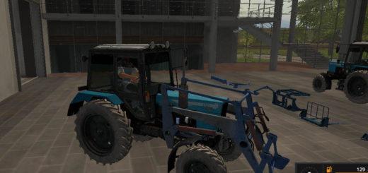 Мод трактор МТЗ 82.1 Фермер Симулятор 2017
