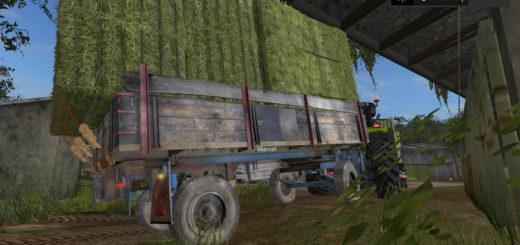 Мод прицеп BSS 5T v 1.0.1 Farming Simulator 17