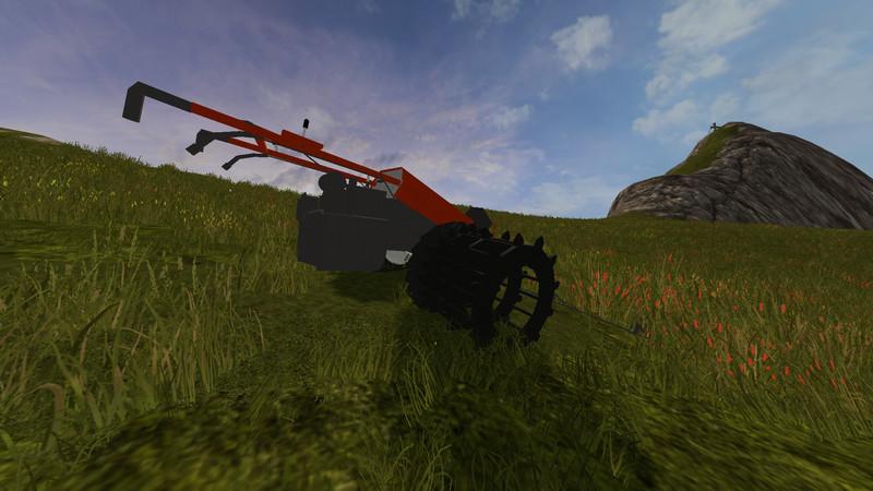 Мод газонокосилка BUCHER M300 V2.1 Farming Simulator 2017