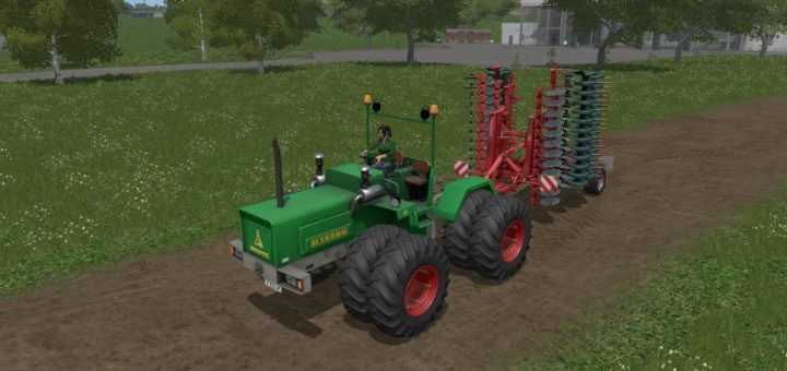 Мод трактор Deutz D16006 v 1.0 Farming Simulator 17