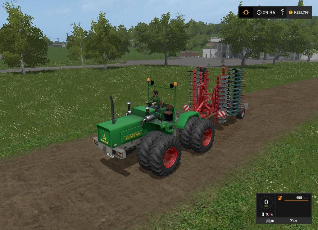Мод трактор Deutz D16006 v 1.0 Farming Simulator 17