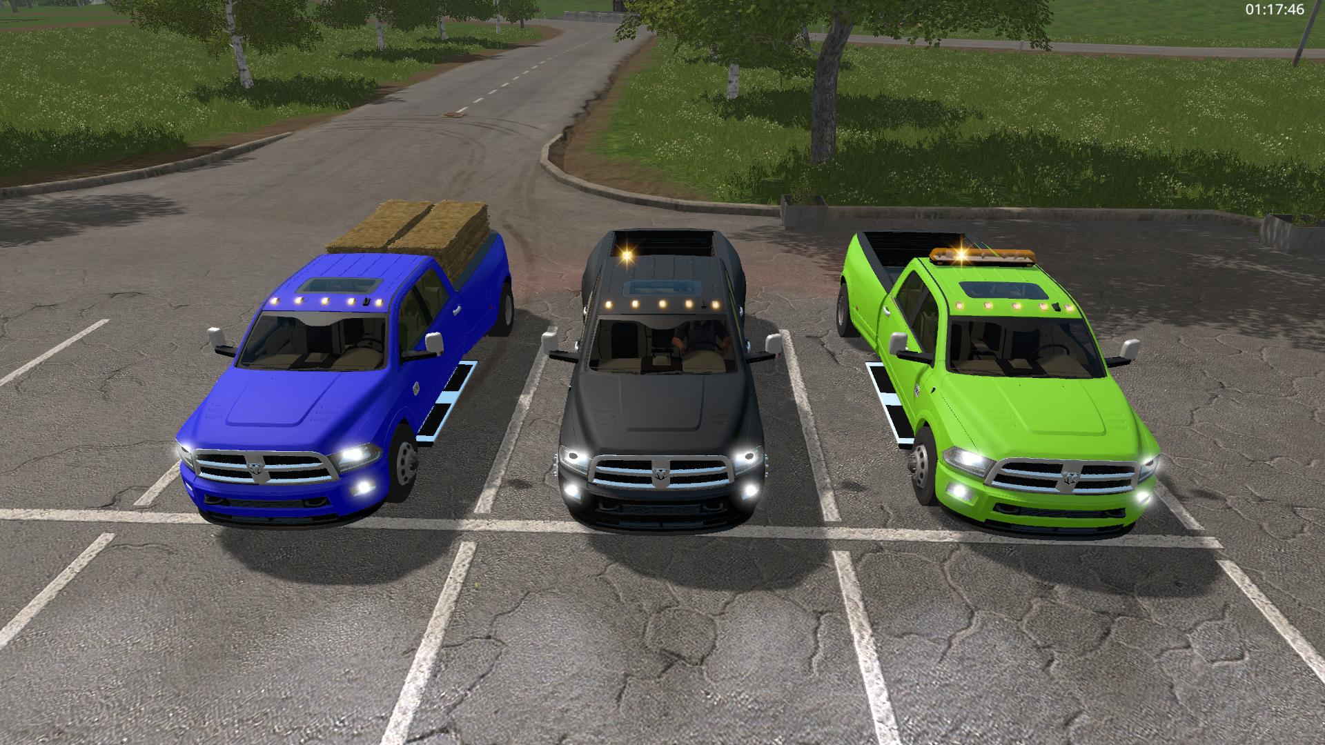 Мод авто Dodge Ram 3500 v 3.0 FS17