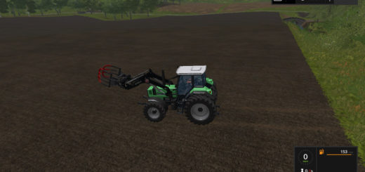 Мод трактор DEUTZ FAHR 6.11 V1.0 Farming Simulator 17