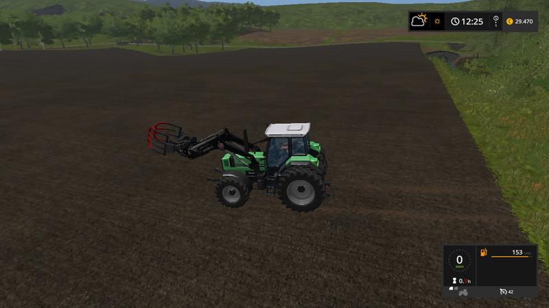 Мод трактор DEUTZ FAHR 6.11 V1.0 Farming Simulator 17