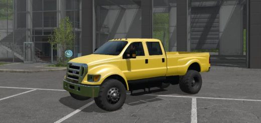 Мод авто Ford F-650 SUPER DUTY V1.0 Farming Simulator 17