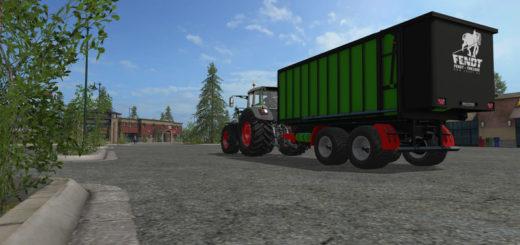 Мод прицеп FENDT–TMK100K v 1.0 Farming Simulator 2017
