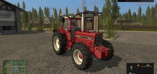 Мод трактор INTERNATIONAL 1455 V3.0 FS17