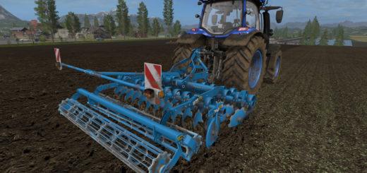 Мод культиватор Lemken Heliodor 9 S v 2.5.6 Farming Simulator 17