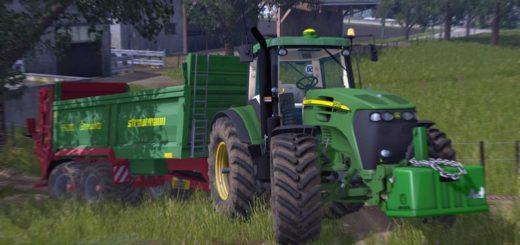 Мод трактор John Deere 7020 Serie v 2.0 FS17