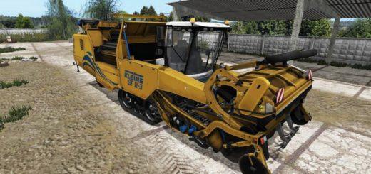 Мод комбайн KLEINE VOLLERNTER SF11 3 V1.0 Farming Simulator 2017