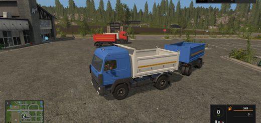 Мод грузовик МАЗ 555035 v 1.0 Фермер Симулятор 2017
