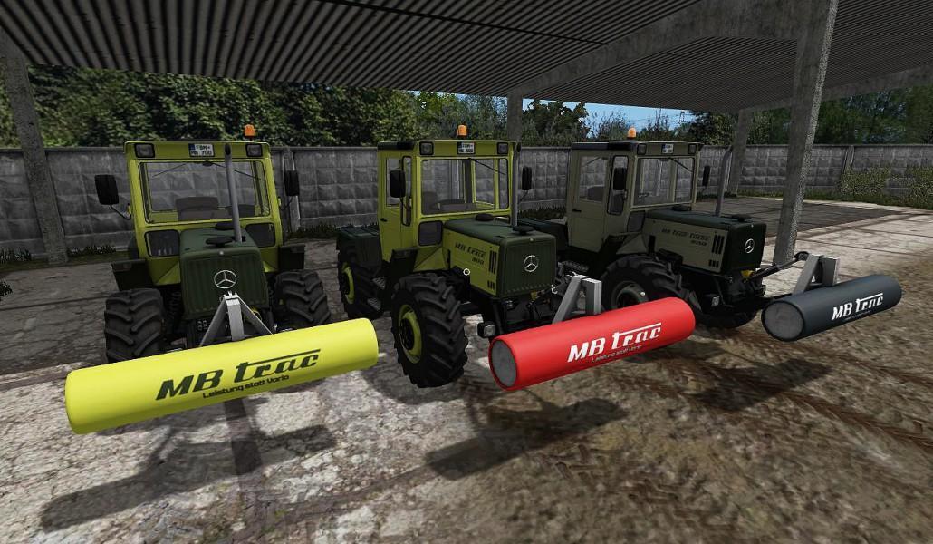 Мод противовес MERCEDES BENZ TRAC GEWICHT 1T V1.0 Farming Simulator 17