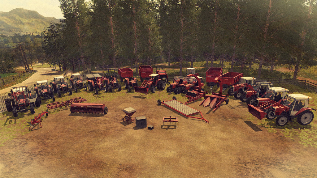 Мод ПАК MF OLD GENERATION 1970-1990 V1.0.0.0 Farming Simulator 17