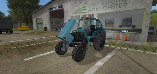 Мод трактор МТЗ MTZ 82 TURBO V2.1 Фермер Симулятор 2017