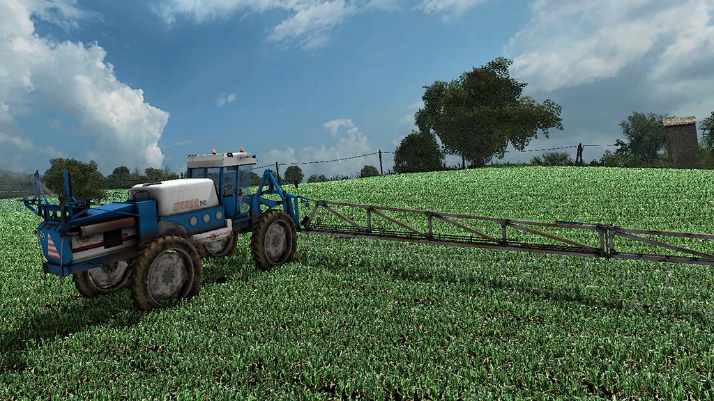 Мод опрыскиватель MATROT M44D V1.0.0.0 Farming Simulator 2017