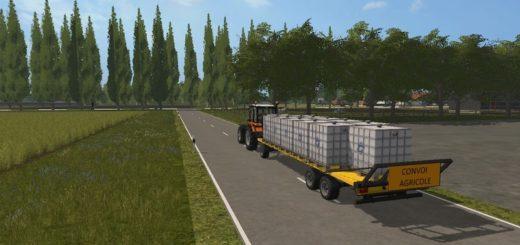 Мод прицеп PIRNAY RE95T V1.0.1.0 Farming Simulator 17