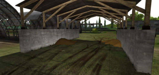Мод Placeable Shed v 1.0 Farming Simulator 17