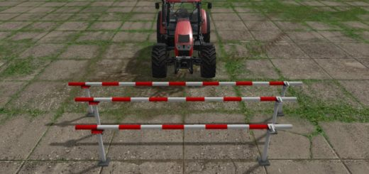 Мод ROAD BARRIER V1.0.0.0 Farming Simulator 2017