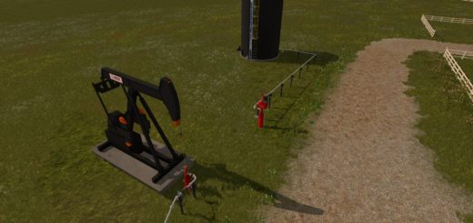 Мод SENTRY AND OILLIFT PUMPS V1.0 Farming Simulator 17