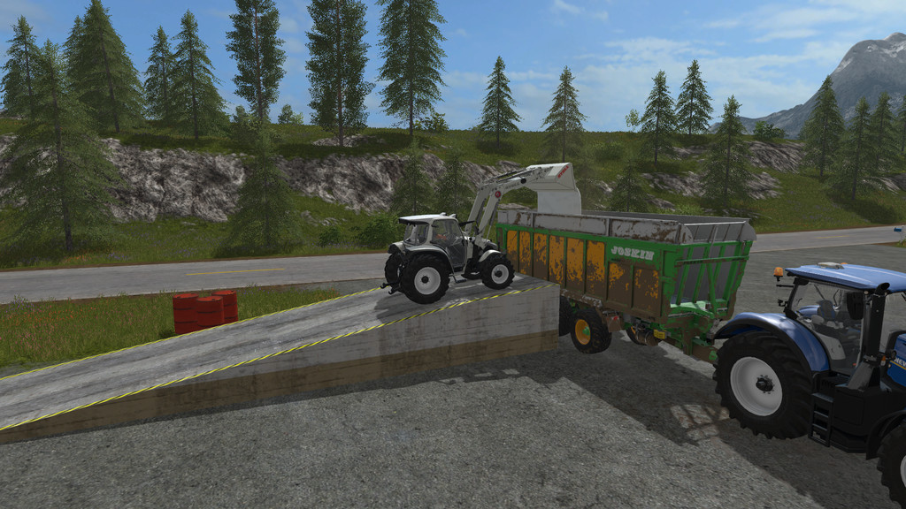 Мод рампа Static Ramp 1.0.0.1 FS17