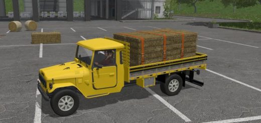 Мод грузовик Toyota Land Cruiser v 1.0 Farming Simulator 17