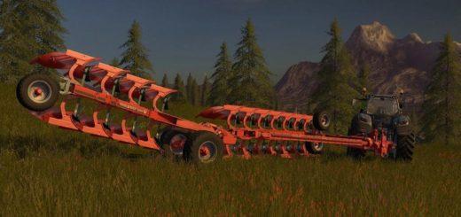 Мод плуг VOGEL & NOOT HEROS 1000 V1.0 Farming Simulator 2017