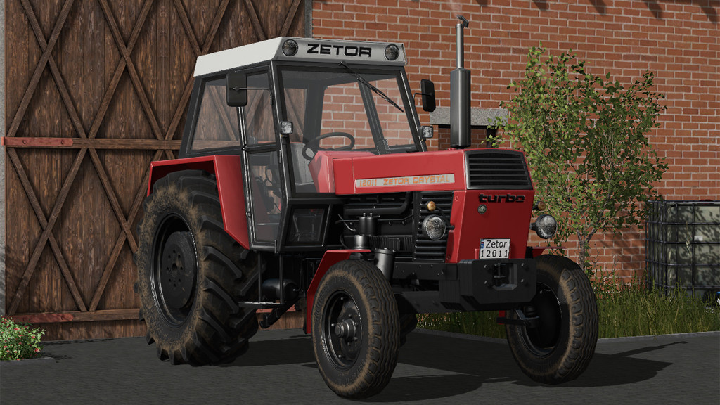 Мод трактор ZETOR CRYSTAL 12011 V1.1.0.0 Farming Simulator 2017
