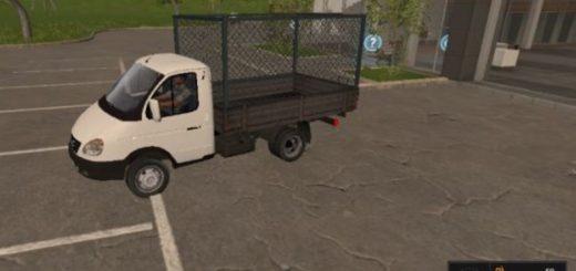 Мод грузовик ГАЗ 3302 v1 Фермер Симулятор 2017