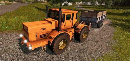 Мод трактор K-700A spalnik V1.0 Фарминг Симулятор 2017