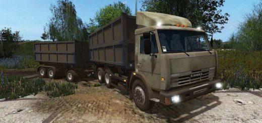 Мод грузовик КамАЗ-45143 V1.0.0.0 Фермер Симулятор 2017