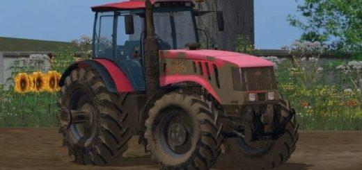 Мод трактор МТЗ 3022 ДЦ v 1.0 Фермер Симулятор 2017
