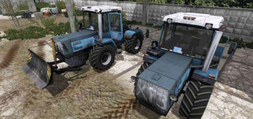 Мод трактор ХТЗ Т-150 09 25 и отвал v 1.0 Фермер Симулятор 2017
