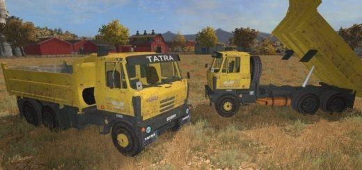 Мод грузовик Tatra T815 S3 Farming Simulator 2017