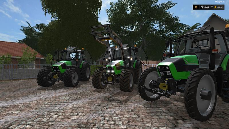 Мод трактор Deutz Agrotron TTV 620 v 1.0 Farming Simulator 2017