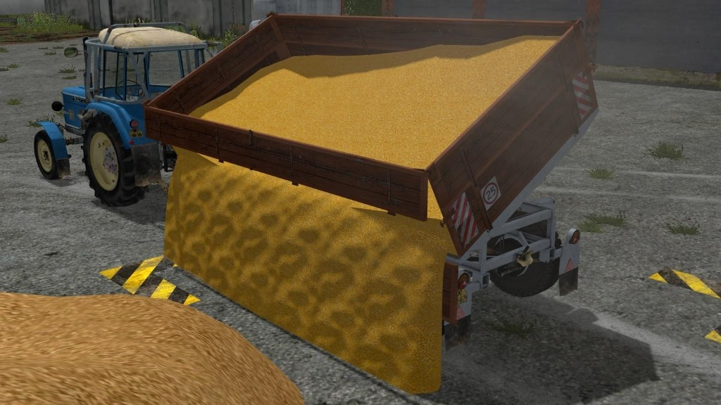 Мод прицеп BSS P73SH V0.1.0.0 Farming Simulator 17