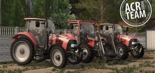 Мод трактор Case Farmall 105U FL v 1.1 Farming Simulator 2017
