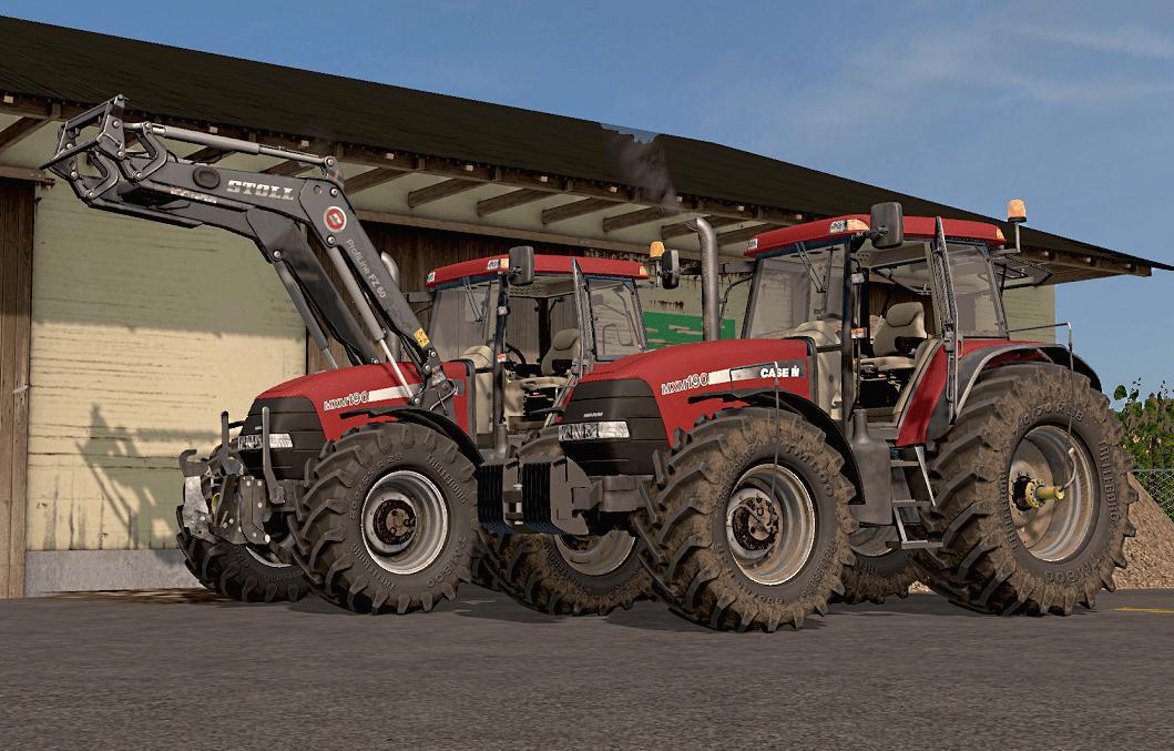 Мод трактор Case Maxxum Mxm 190 v 1.0 Farming Simulator 17