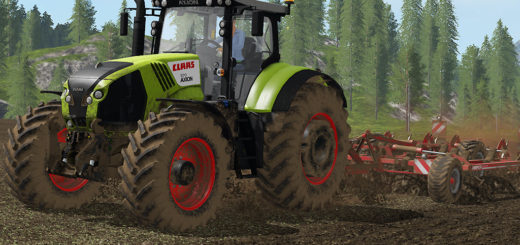 Мод трактор Claas Axion 800 v 1.0.0.0 FS17