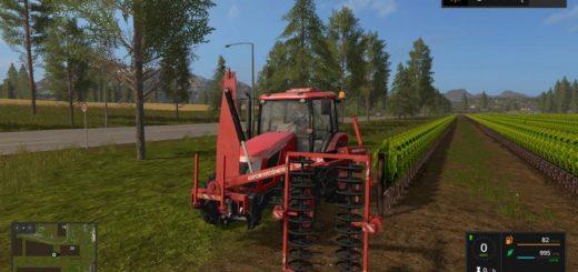 Мод сеялка Collard PrePruning v3.0 Farming Simulator 2017