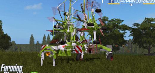Мод валковая жатка CLAAS LINER 2700 V1.0 Farming Simulator 2017