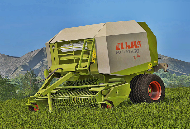 Мод тюкопресс Claas Rollant 250 v2.0 Farming Simulator 2017