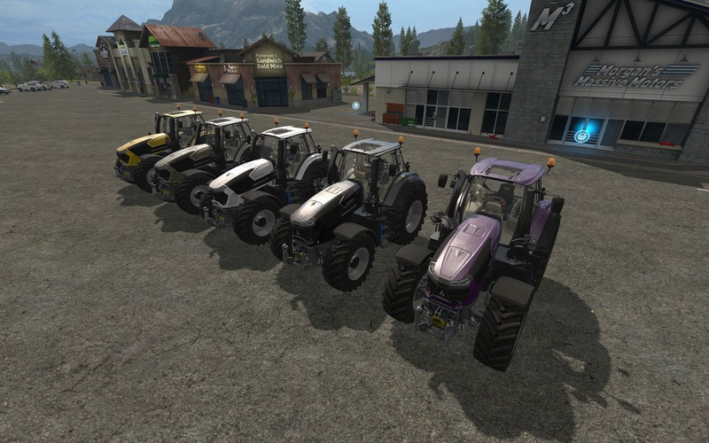 Мод трактор DEUTZ SERIE 9 COLORABLE & CHIP TUNING V1.0.0.1 FS17