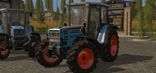 Мод трактор EICHER 2090T - 2100T V1.1.0.0 Farming Simulator 17