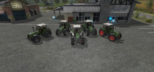 Мод трактор FENDT FAVORITE 600 V0.9 FS17