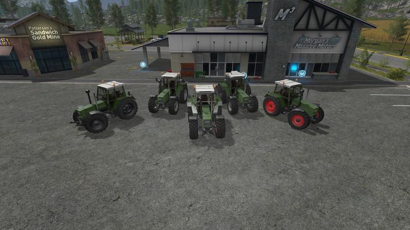 Мод трактор FENDT FAVORITE 600 V0.9  FS17