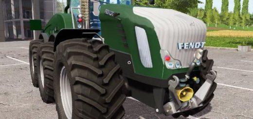 Мод трактор FENDT TRISIX V1.1 Farming Simulator 17