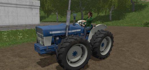 Мод трактор FORD COUNTY 1124 V1.0 FS17