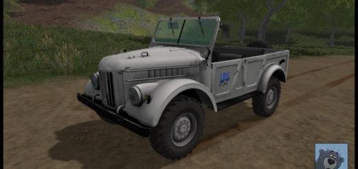 Мод авто ГАЗ 69 V3.0 Фермер Симулятор 2017