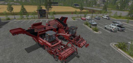 Мод ПАК комбайнов GRIMMEPACK V5.0 Farming Simulator 2017