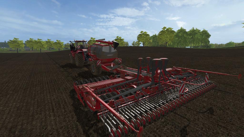 Мод сеялка HORSCH PRONTO 9SW V1.0.0.0 Farming Simulator 17